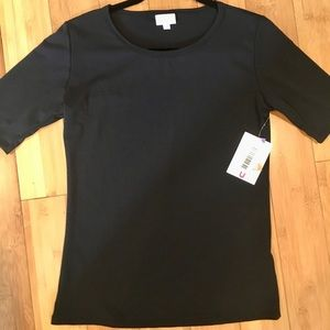 S Gigi Top Solid Black